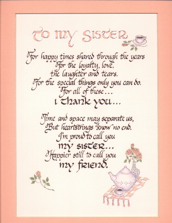 Sister Quotes - 25 Lovely Collections   Design Press